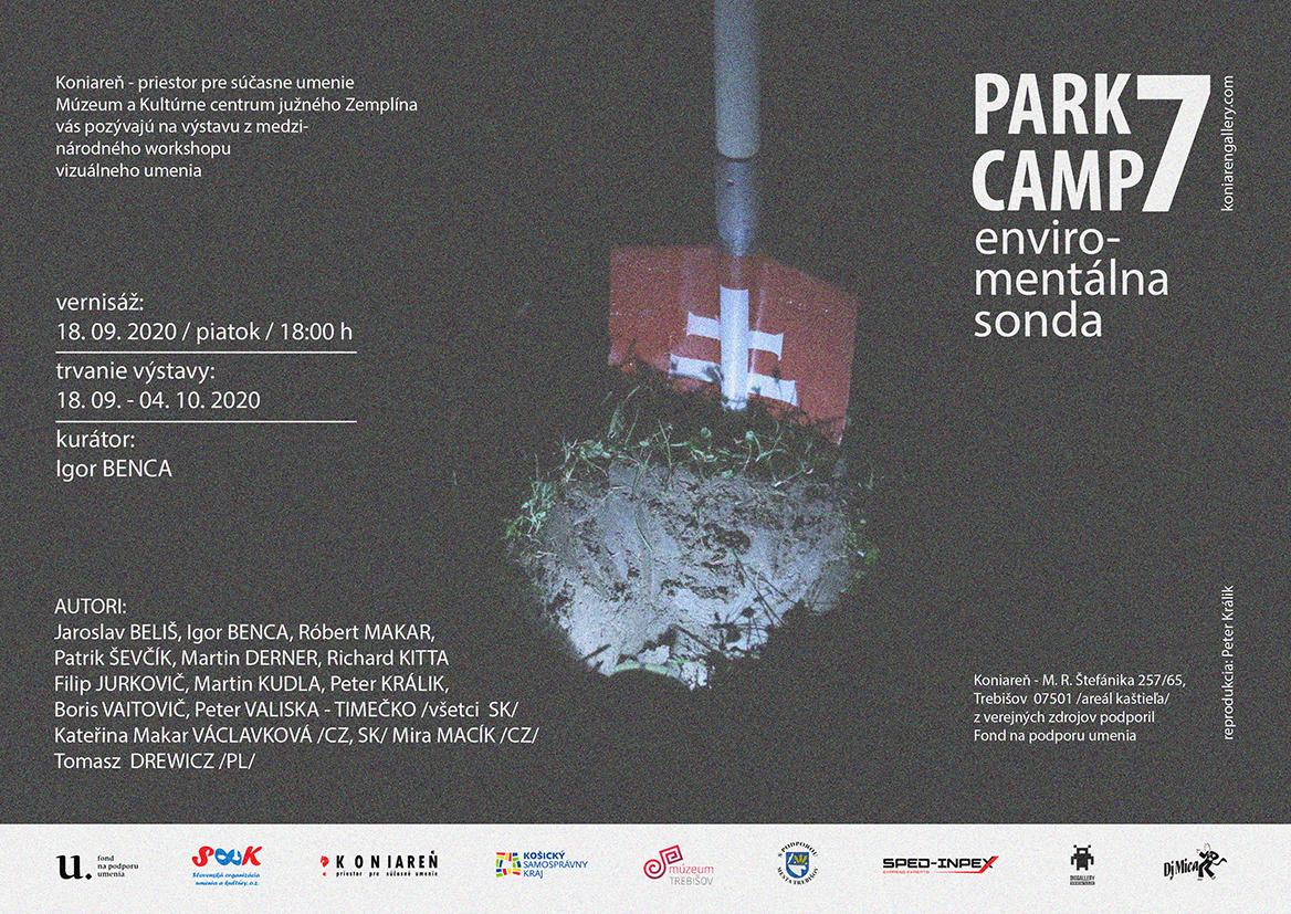 Pozvánka PARK camp 7